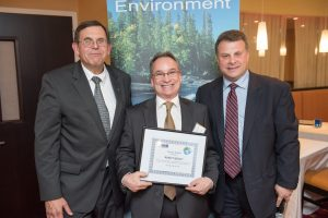 RG Award Picture 2 300x200 Environmental Business Council of CIANJ Awards Geo Cleanses Vice President, Robert Glaser